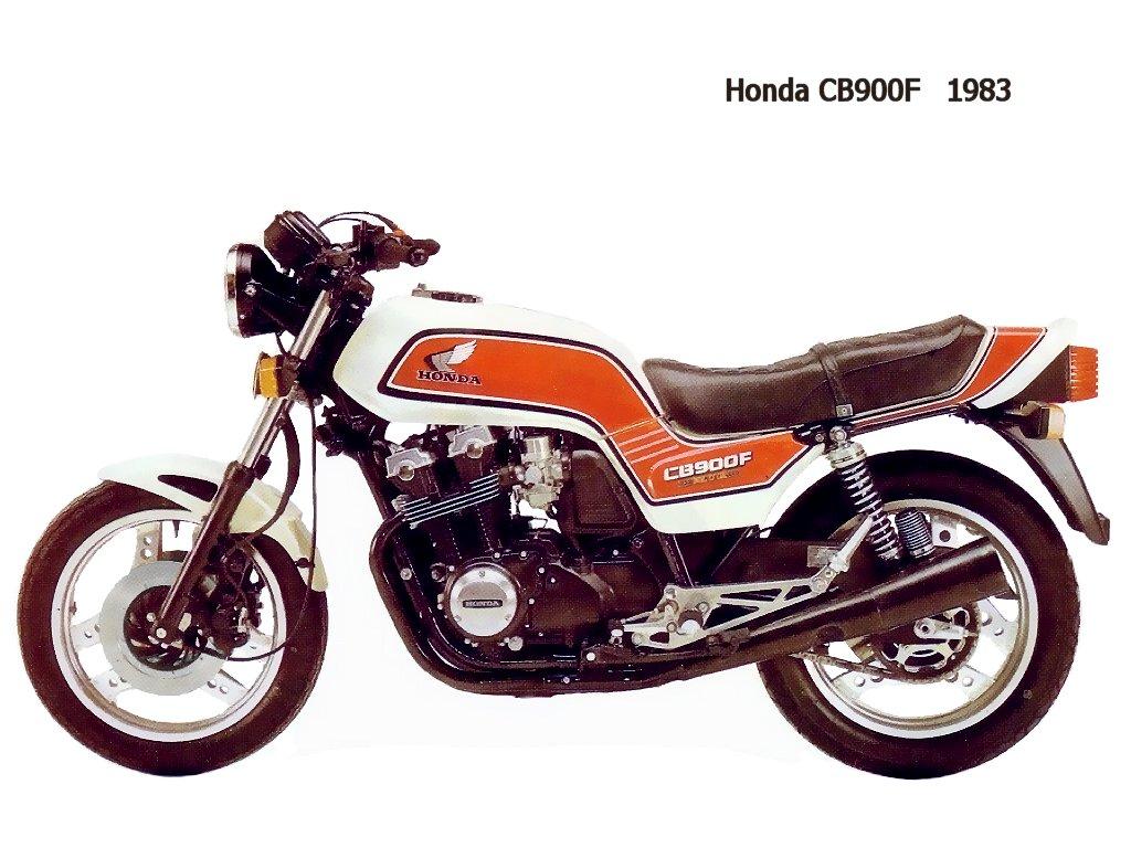 Honda Cb900f 1983 Jpg