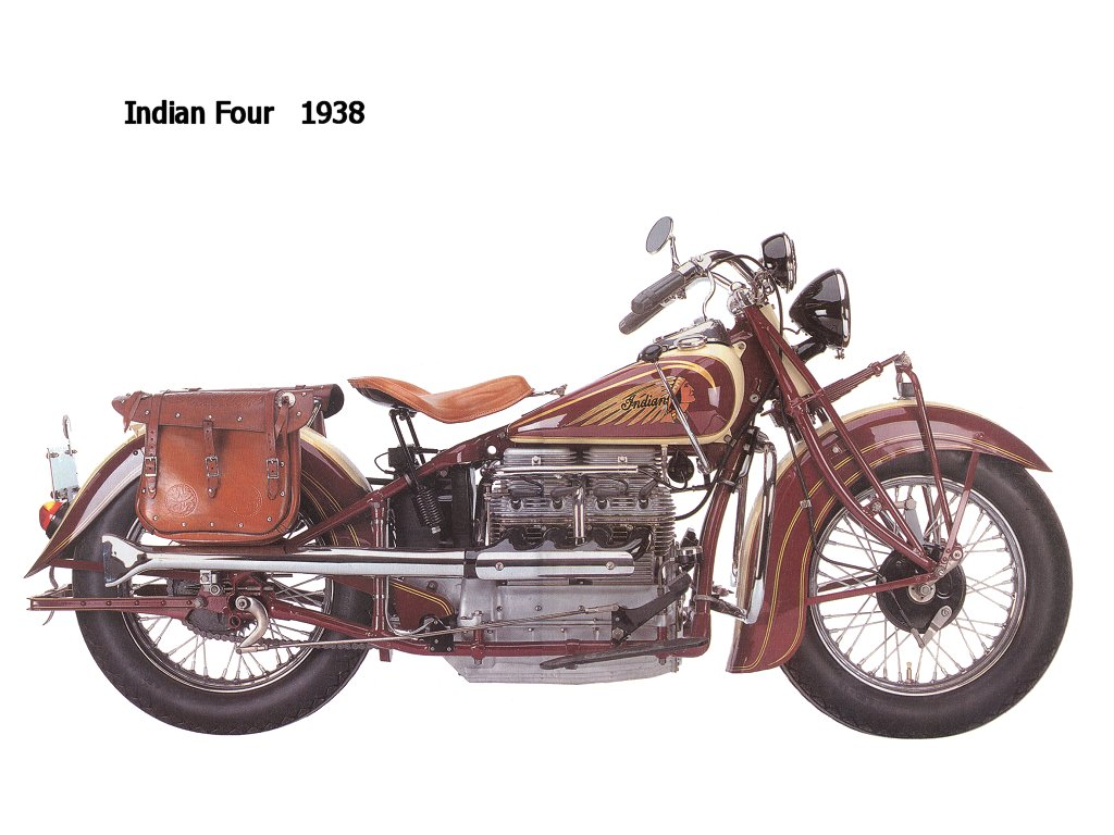 Most Indian Motorcycles Of The Late 1930s To The Early 1950s, But Above  Them All The ...