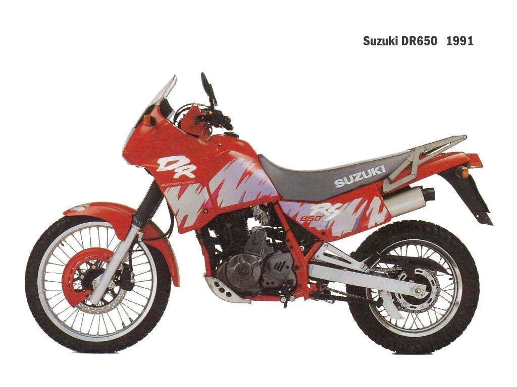 Suzuki dr 650 motorcycles picture
